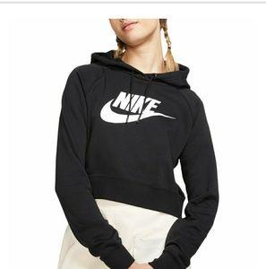 Nike Essentials crop hoodie XL